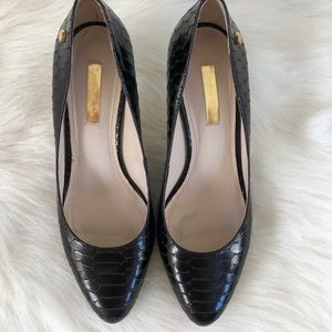 Louise et Cie Black Snake look heel